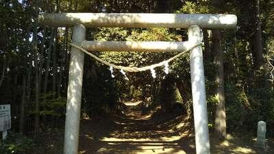 折居神社の鳥居