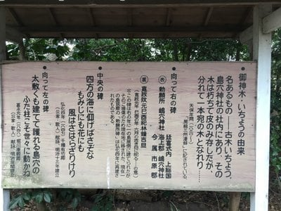 島穴神社の歴史