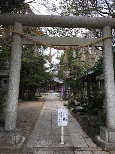 島穴神社の鳥居