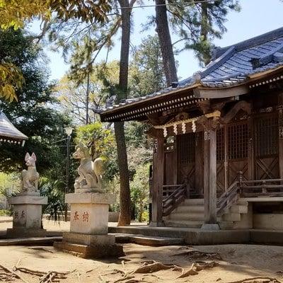 東京都高稲荷神社の本殿