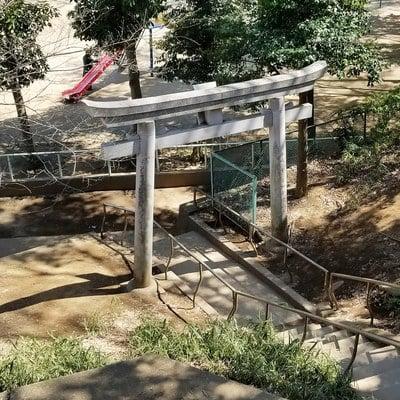 東京都高稲荷神社の写真