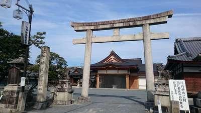 京都府北野天満宮御旅所(神輿岡神社)の鳥居
