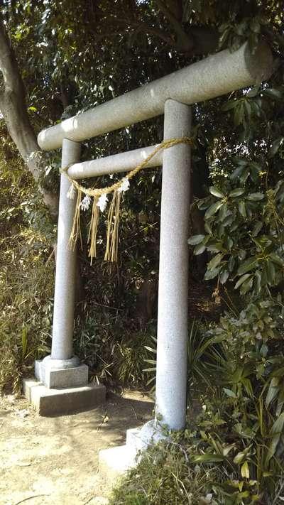 茨城県香取神社の鳥居
