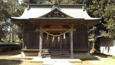 茨城県芳賀神社の本殿