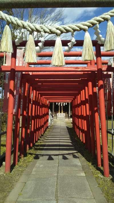 銭谷稲生神社の鳥居