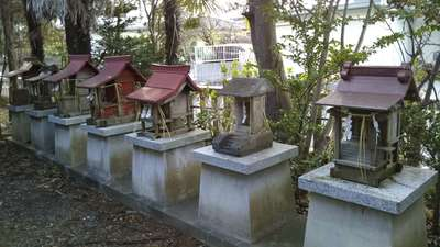 銭谷稲生神社の末社