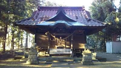 筑波神社の本殿
