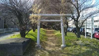 赤穂杉稲荷神社の鳥居