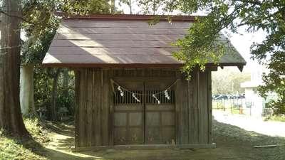 赤穂杉稲荷神社の本殿