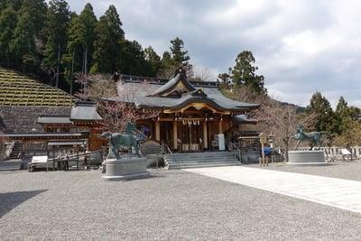 丹生川上神社(上社)の本殿