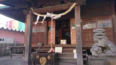 西新井氷川神社の本殿