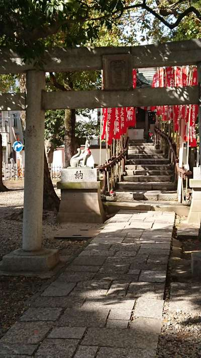東京都西新井大師総持寺の鳥居