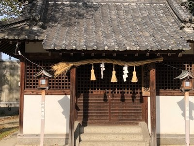高幢神社の本殿