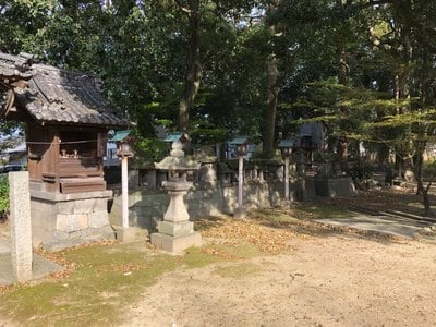 高幢神社の末社