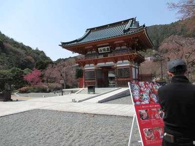 勝尾寺の山門