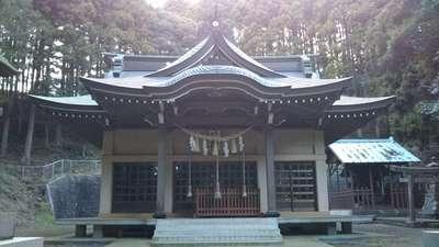 茨城県伊勢神社の本殿