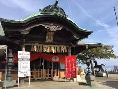 福岡県鷲尾愛宕神社の本殿