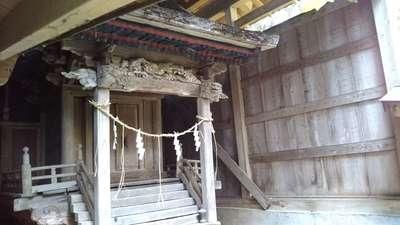 茨城県十二所神社の本殿