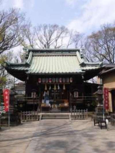 千葉県清瀧神社の本殿