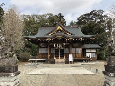 女化神社の本殿