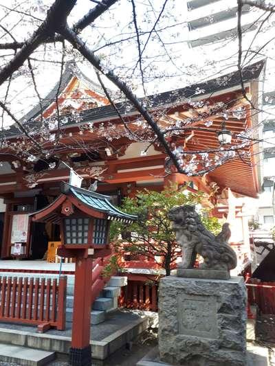東京都秋葉神社の本殿