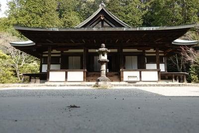 奈良県円成寺の本殿
