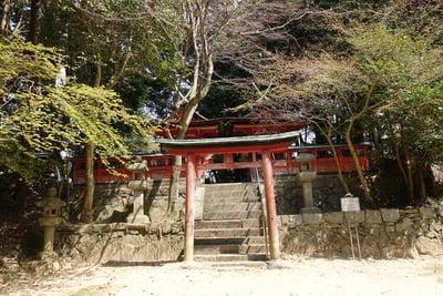 京都府白山神社の鳥居