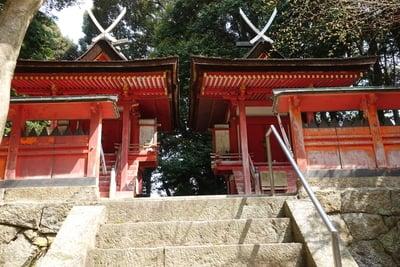 京都府白山神社の本殿