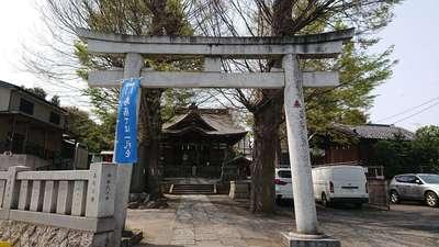 東京都滝野川八幡神社の本殿