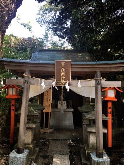 妙法寺の近くの神社お寺|上目黒氷川神社