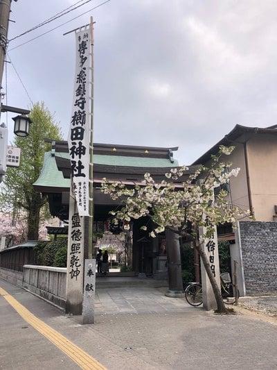櫛田神社(福岡県祇園駅) - 鳥居の写真