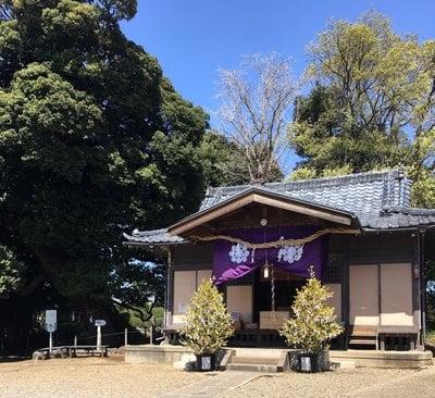 埼玉県九重神社の本殿