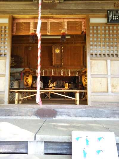 福島県土津神社の本殿