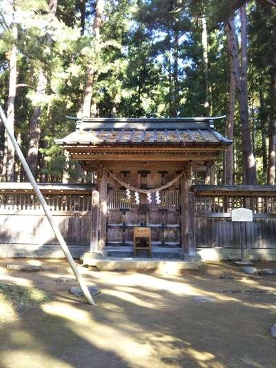 福島県土津神社の写真