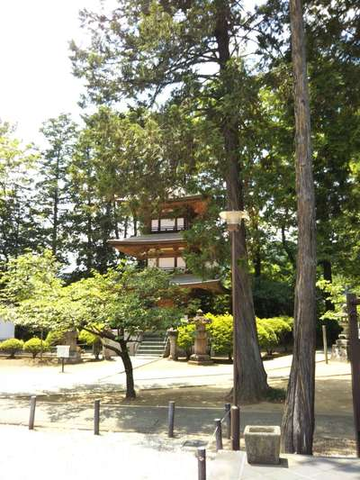 山梨県恵林寺の写真