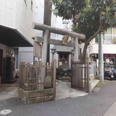 東京都桐生稲荷神社の写真