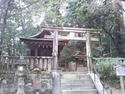 奈良県石上神宮の鳥居