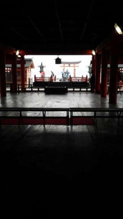 広島県厳島神社の本殿