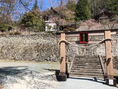 山梨県夫婦木神社の鳥居