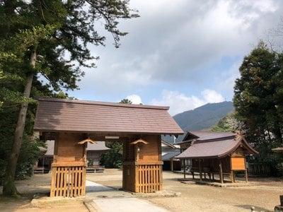 須佐神社(島根県江南駅) - 山門・神門の写真