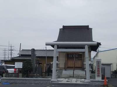 埼玉県香取神社の鳥居