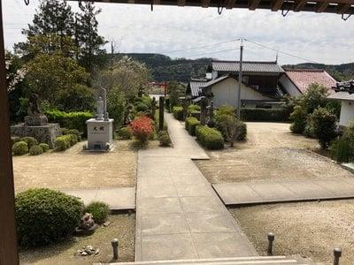 島根県光明寺(馬木不動尊)の景色