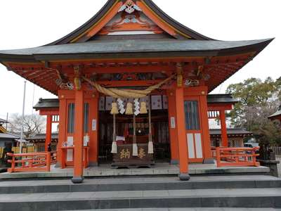 熊本県八代神社の本殿