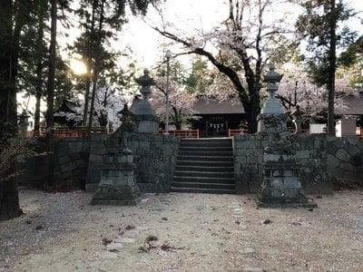 山梨県大井俣窪八幡神社の写真