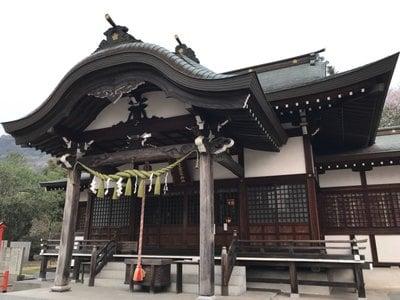 木華佐久耶比咩神社の本殿