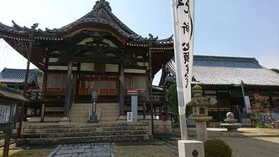 大乗山妙林寺の本殿