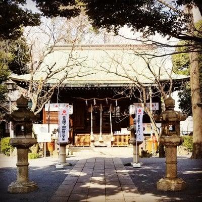 東京都七社神社の本殿