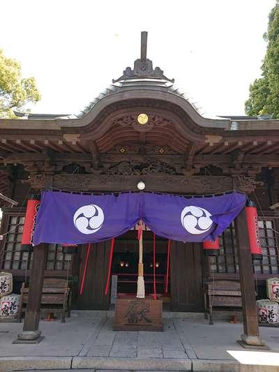福岡県久留米宗社 日吉神社の本殿