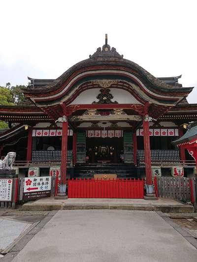 福岡県水田天満宮の本殿