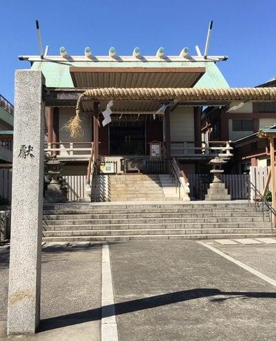 東京都深川神明宮の本殿